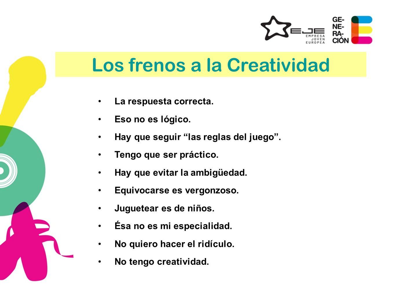 Los frenos a la Creatividad