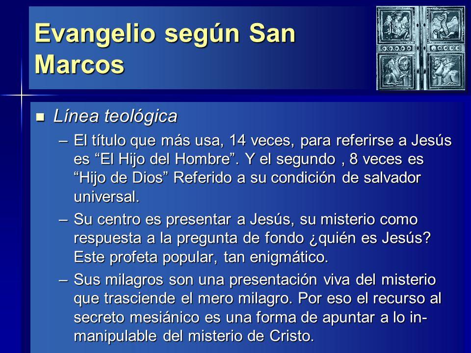 Evangelio según San Marcos