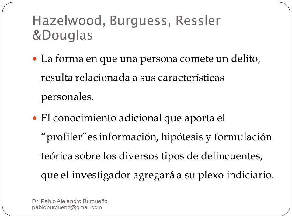 Hazelwood, Burguess, Ressler &Douglas
