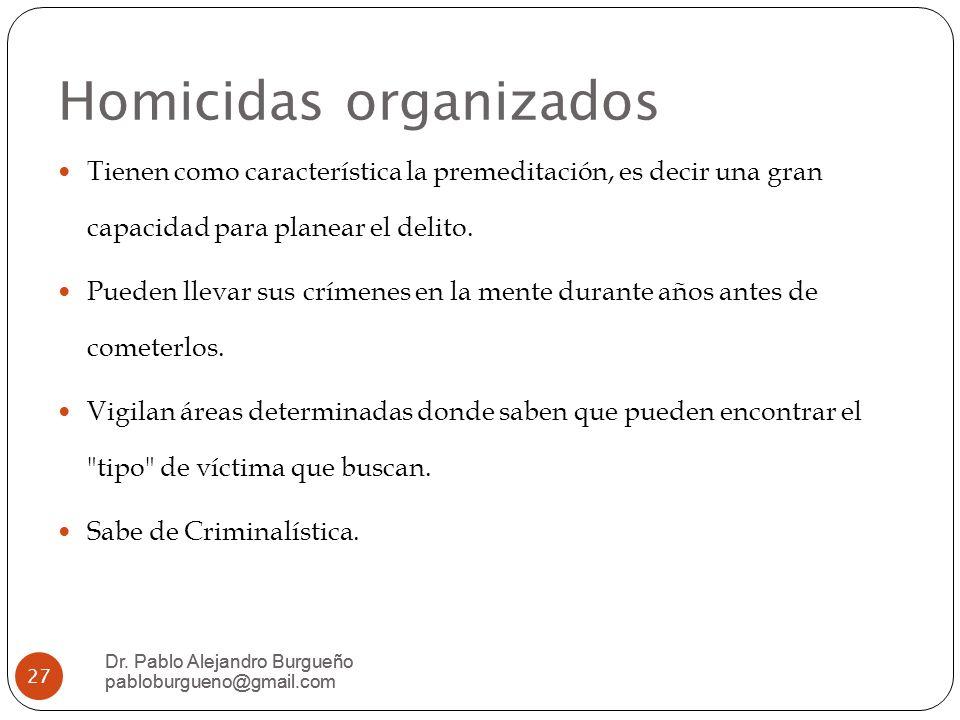 Homicidas organizados
