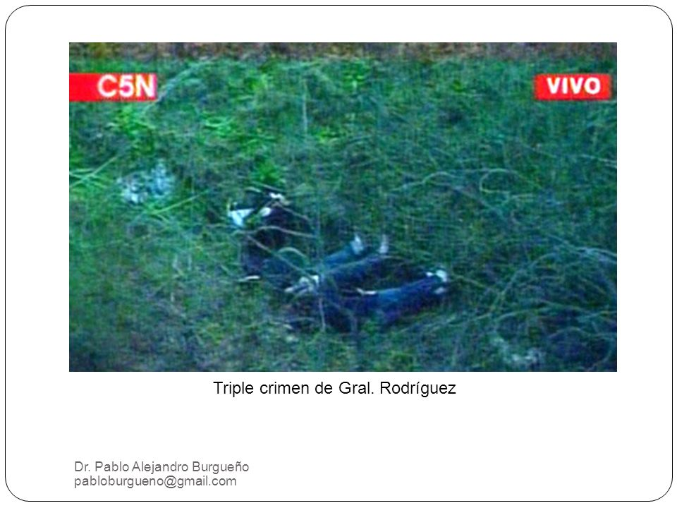 Triple crimen de Gral. Rodríguez