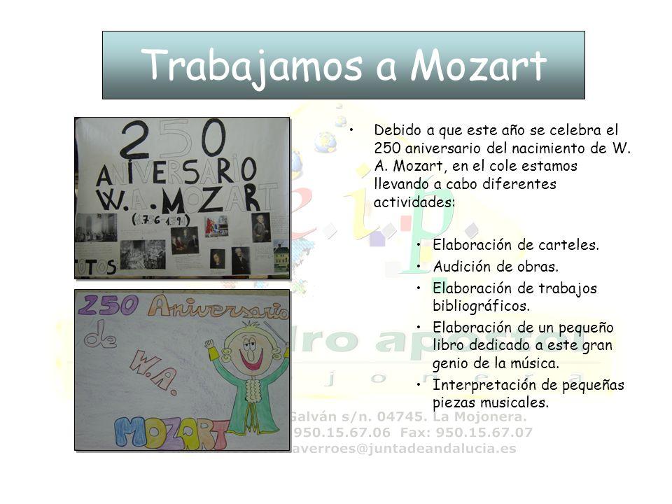 Trabajamos a Mozart