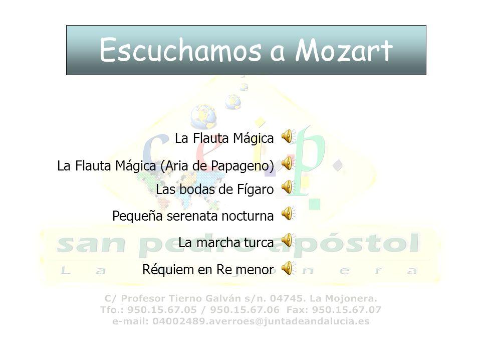 Escuchamos a Mozart La Flauta Mágica