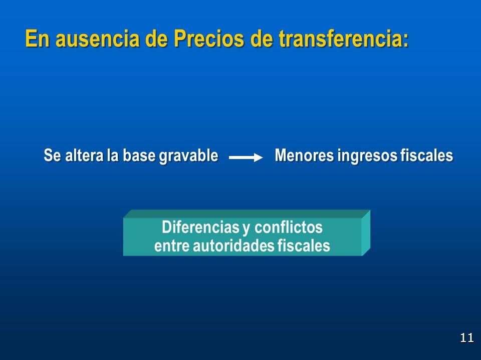 Diferencias y conflictos entre autoridades fiscales