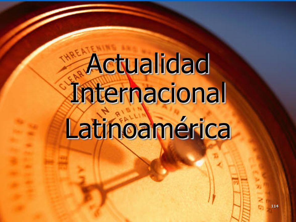 Actualidad Internacional Latinoamérica