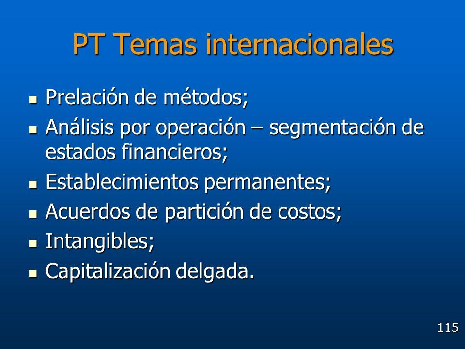 PT Temas internacionales
