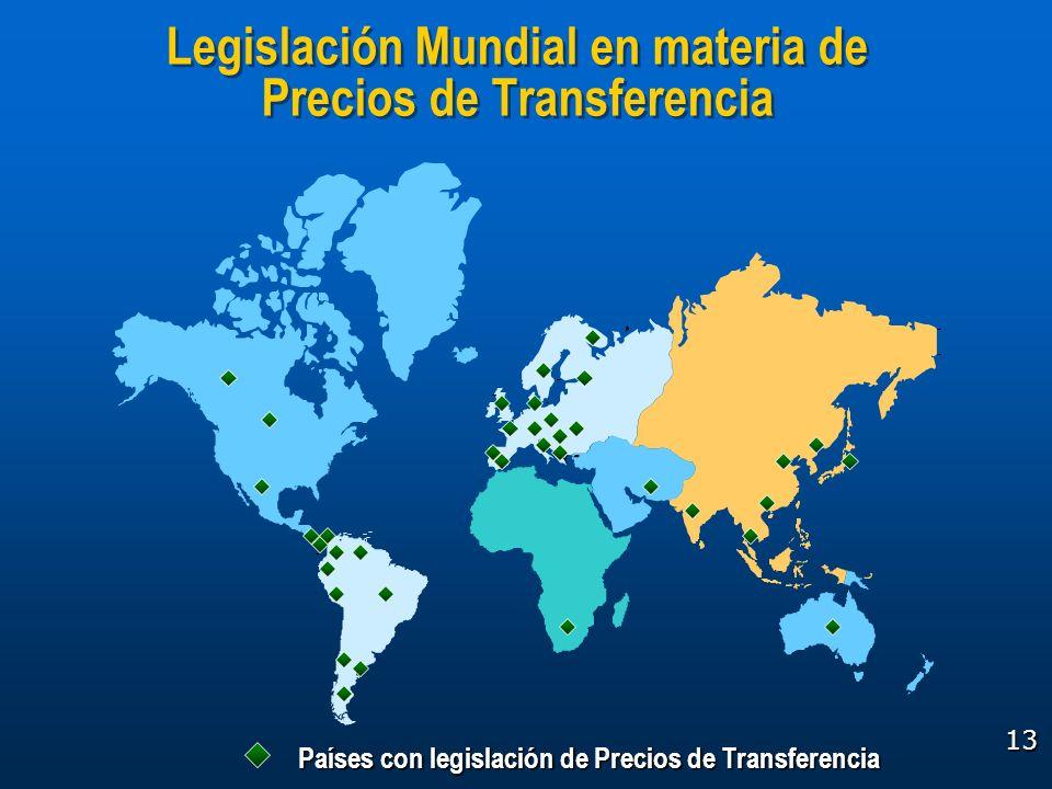 Legislación Mundial en materia de Precios de Transferencia