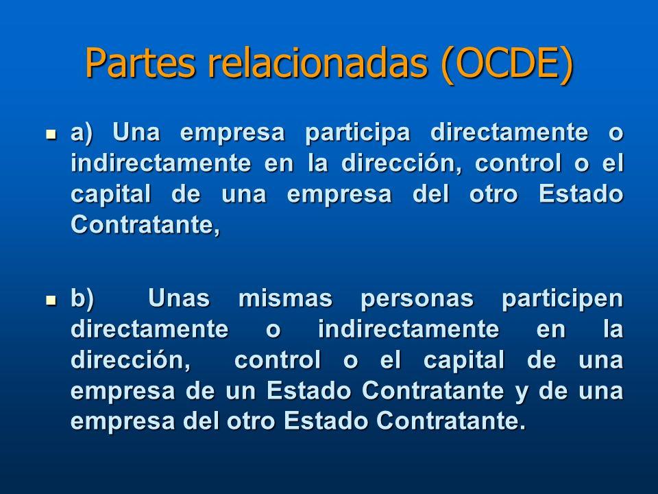Partes relacionadas (OCDE)