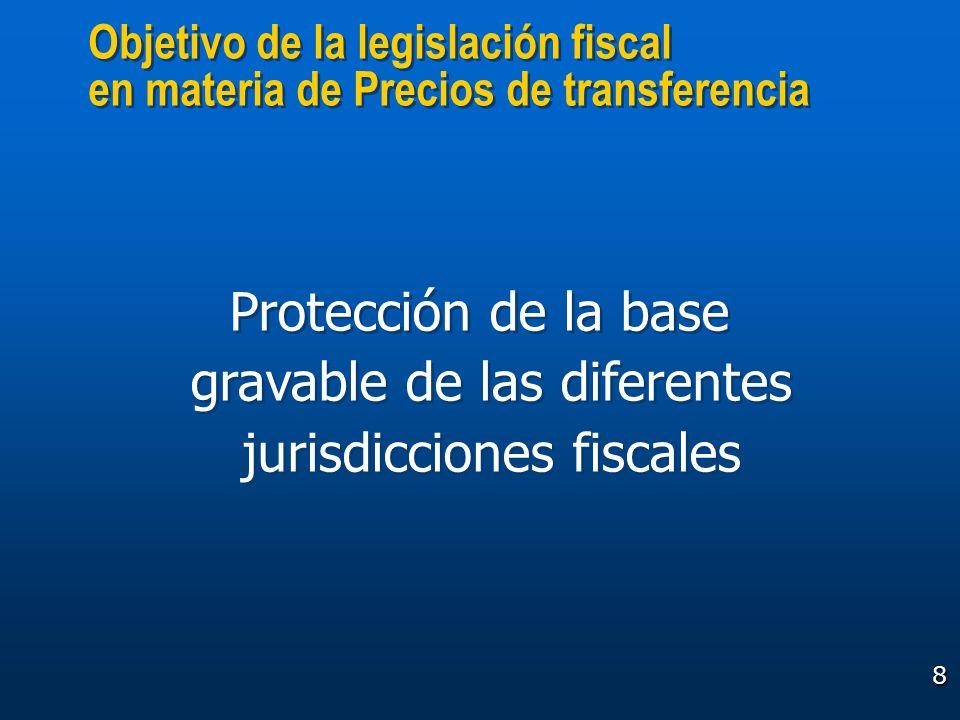 Objetivo de la legislación fiscal