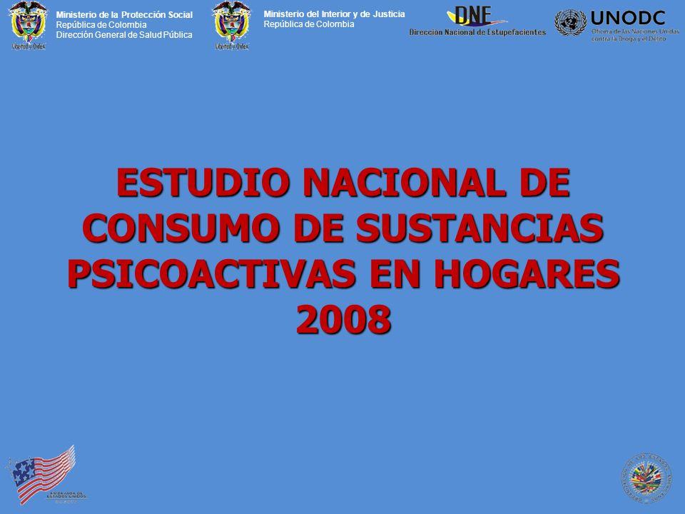 ESTUDIO NACIONAL DE CONSUMO DE SUSTANCIAS PSICOACTIVAS EN HOGARES