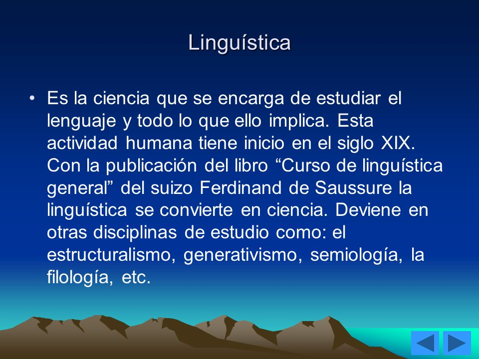 Linguística