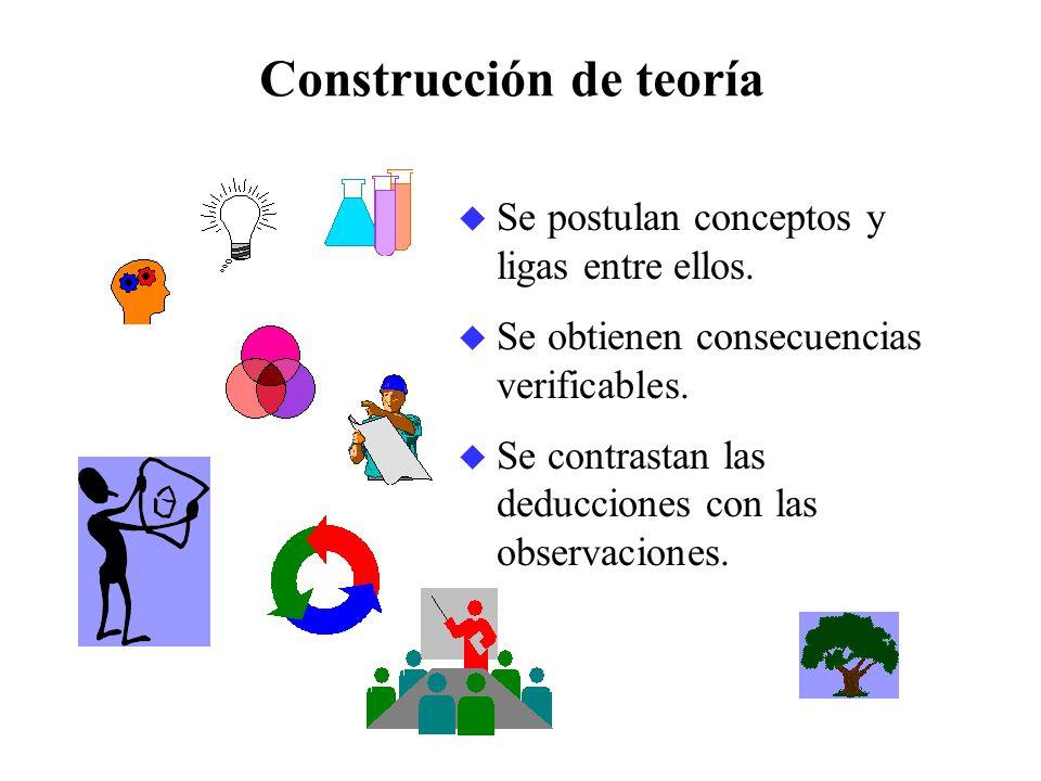 Construcción de teoría