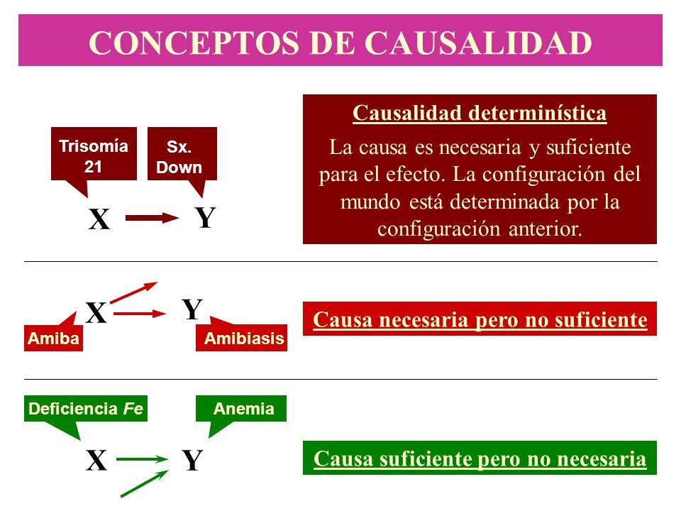 CONCEPTOS DE CAUSALIDAD