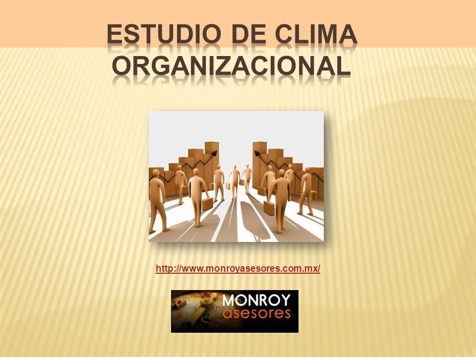 Estudio de Clima Organizacional