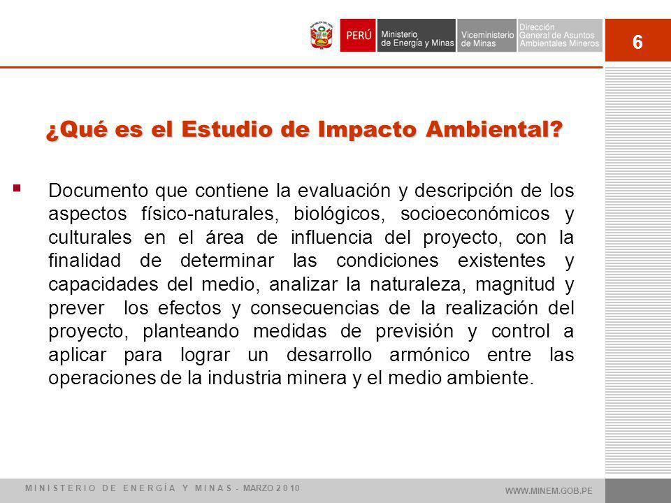 ¿Qué es el Estudio de Impacto Ambiental