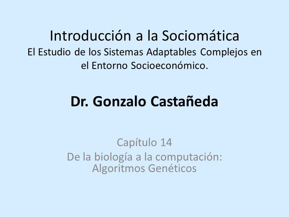 Capítulo 14 De la biología a la computación: Algoritmos Genéticos