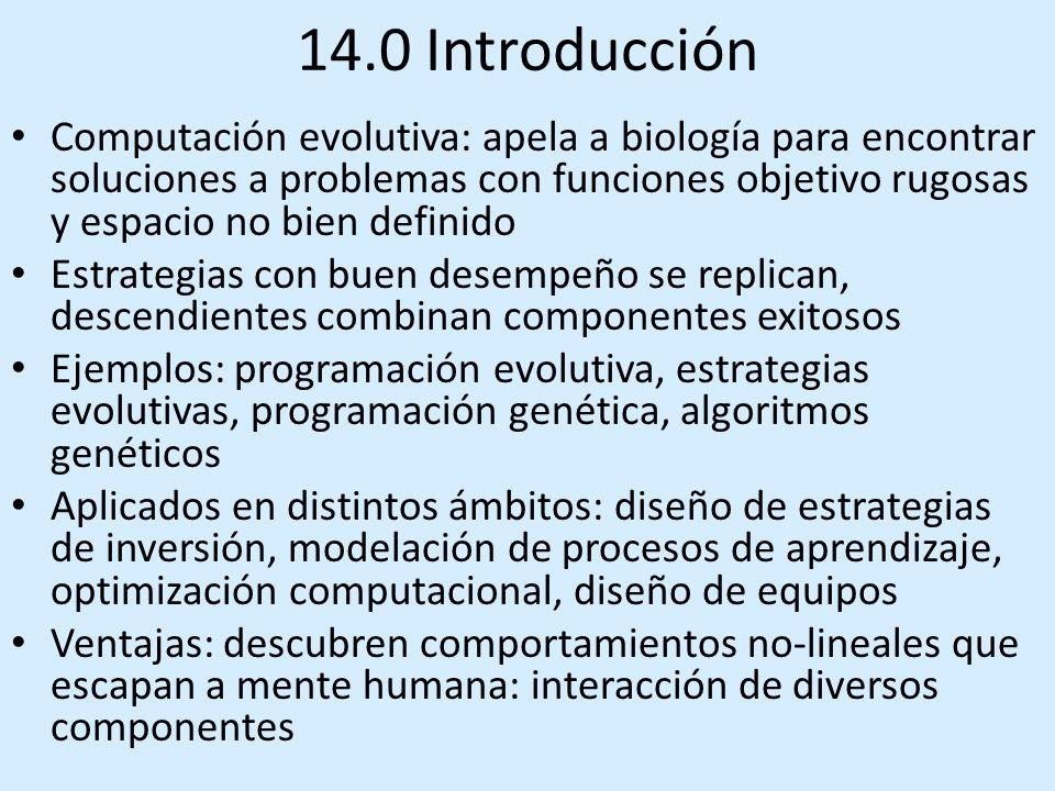 14.0 Introducción