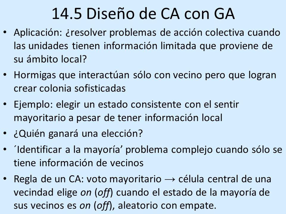 14.5 Diseño de CA con GA