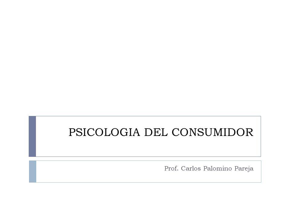 PSICOLOGIA DEL CONSUMIDOR