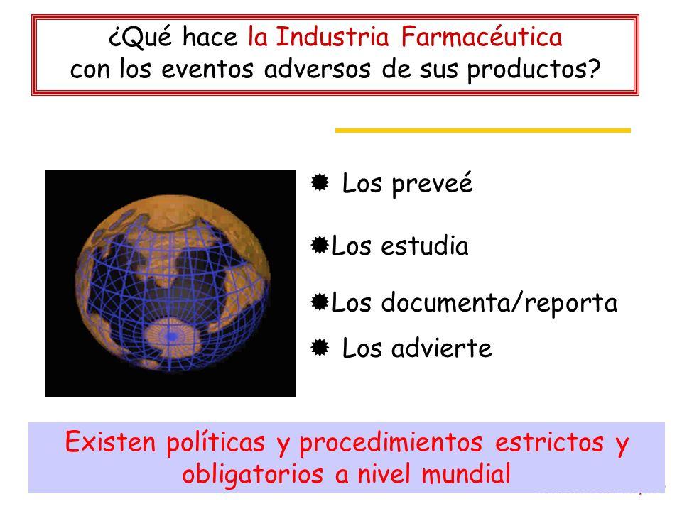 ¿Qué hace la Industria Farmacéutica