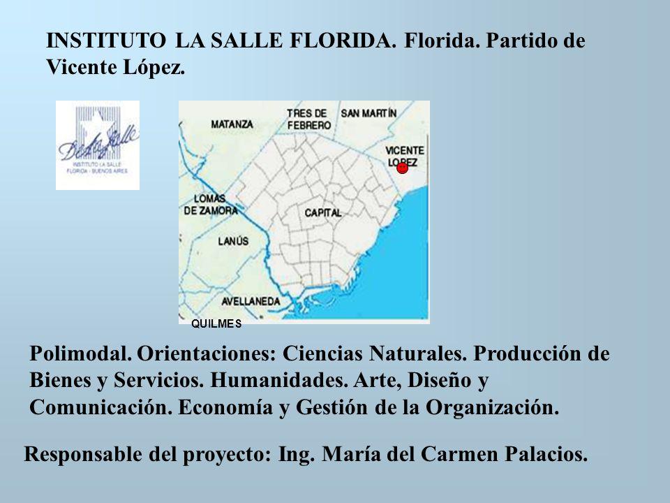 INSTITUTO LA SALLE FLORIDA. Florida. Partido de Vicente López.
