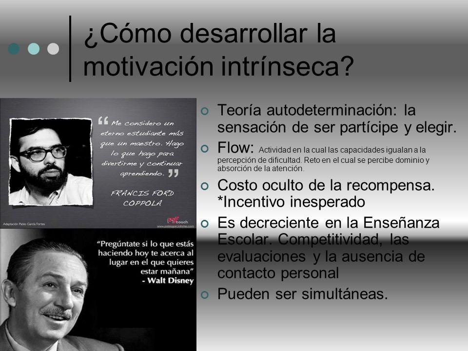 ¿Cómo desarrollar la motivación intrínseca