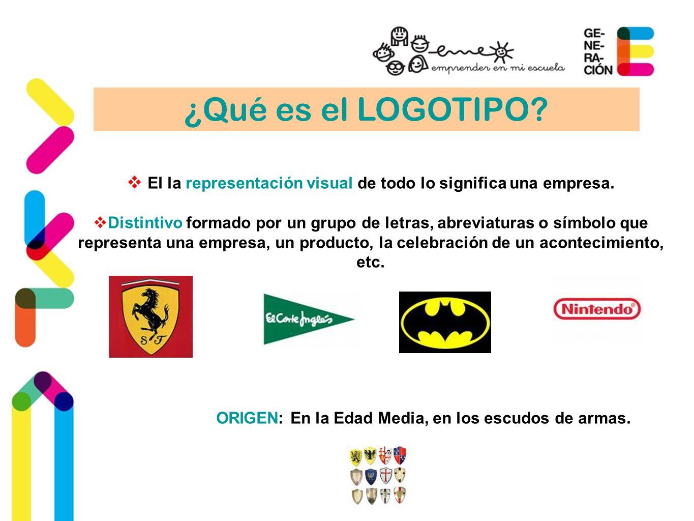 El la representación visual de todo lo significa una empresa.