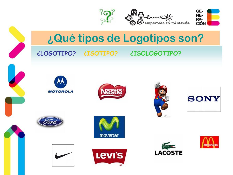 ¿Qué tipos de Logotipos son