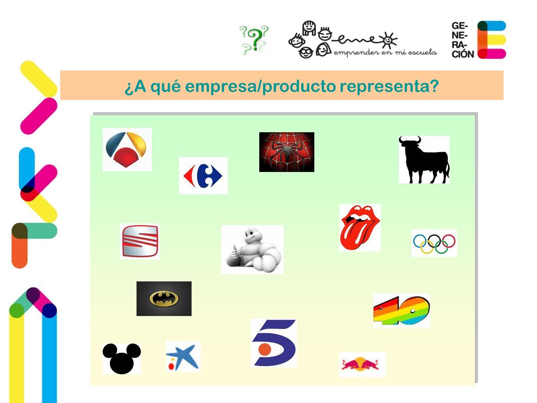 ¿A qué empresa/producto representa