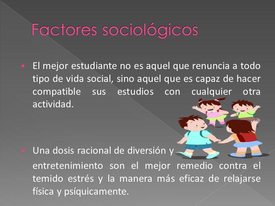 Factores sociológicos