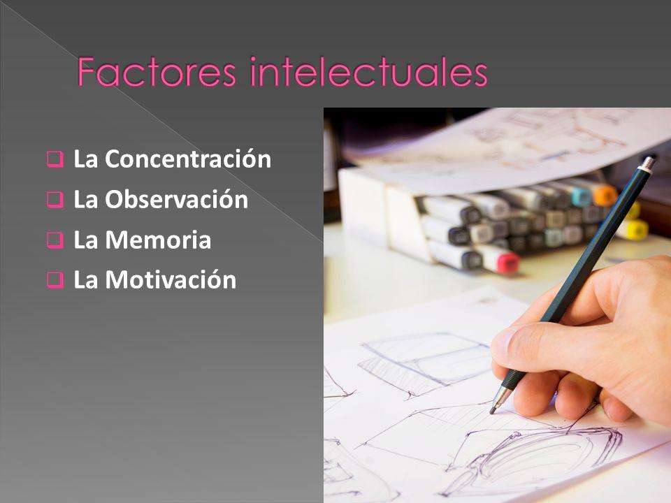 Factores intelectuales