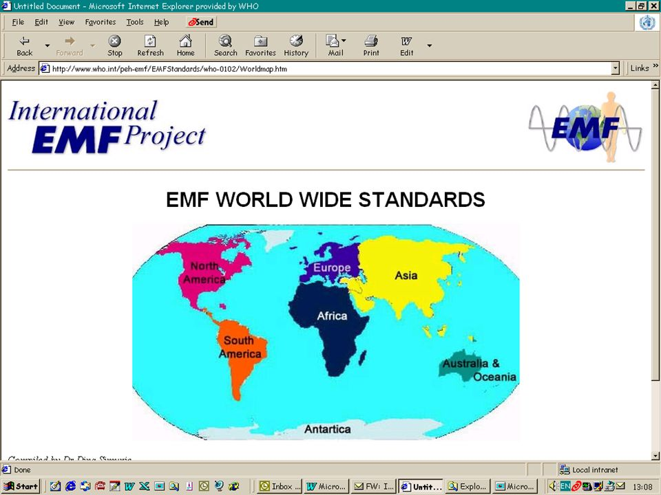 Characterizing evidence in EMF risk assessment, Berlin, 4-5 May 2006