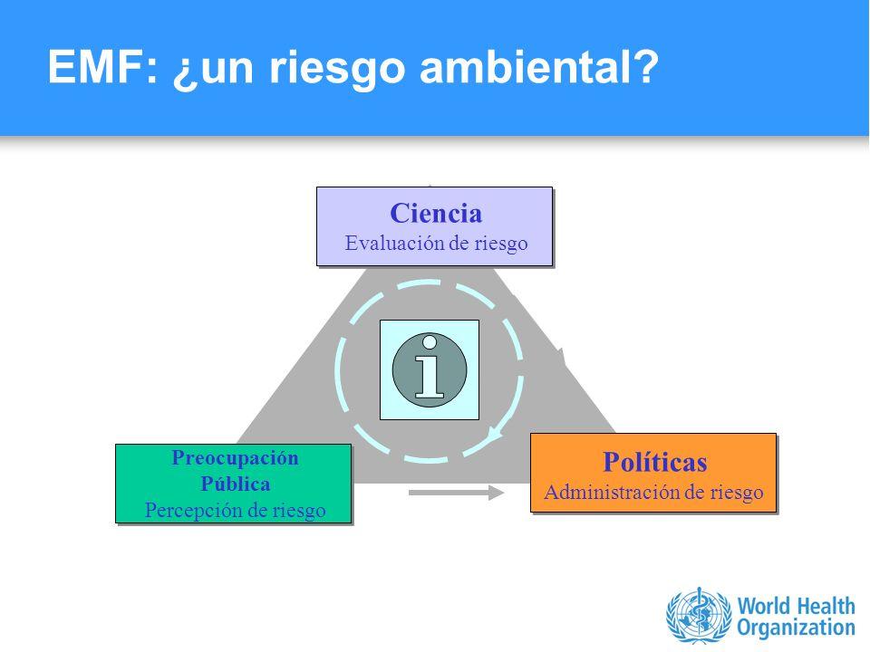 EMF: ¿un riesgo ambiental