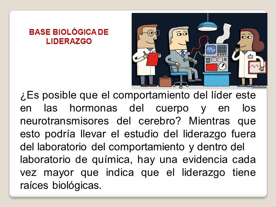 BASE BIOLÓGICA DE LIDERAZGO