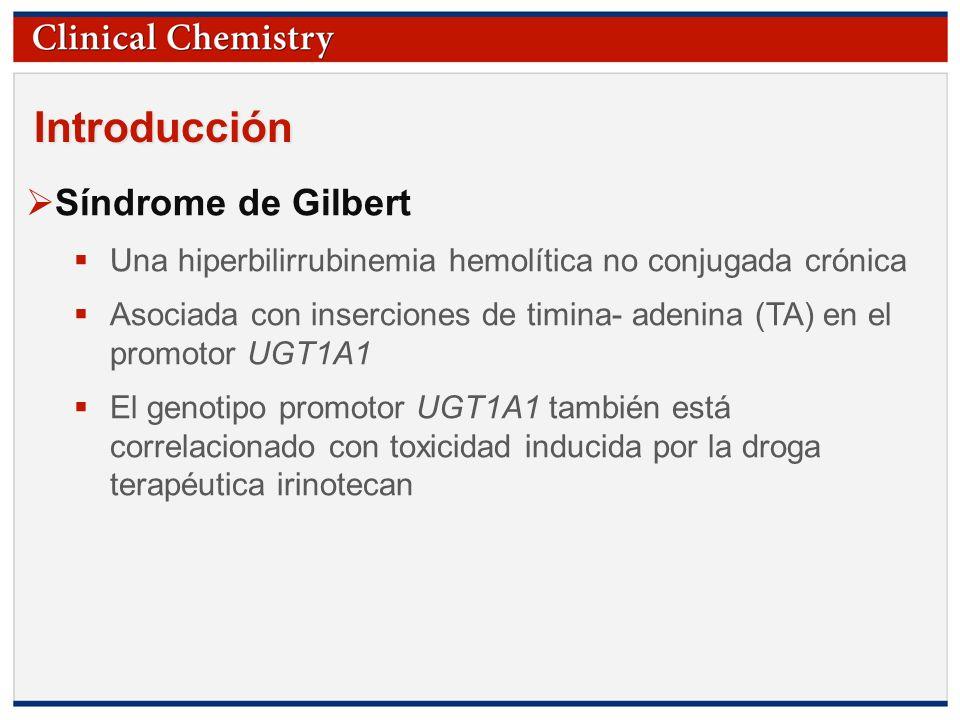 Introducción Síndrome de Gilbert