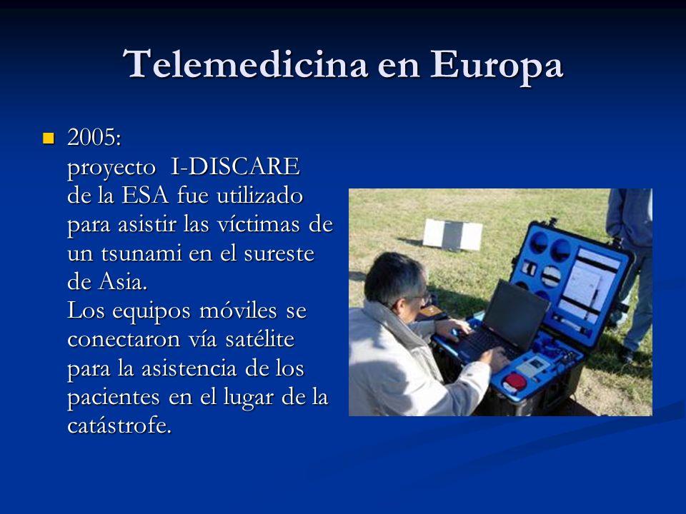 Telemedicina en Europa