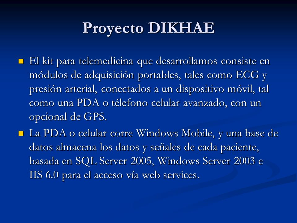 Proyecto DIKHAE