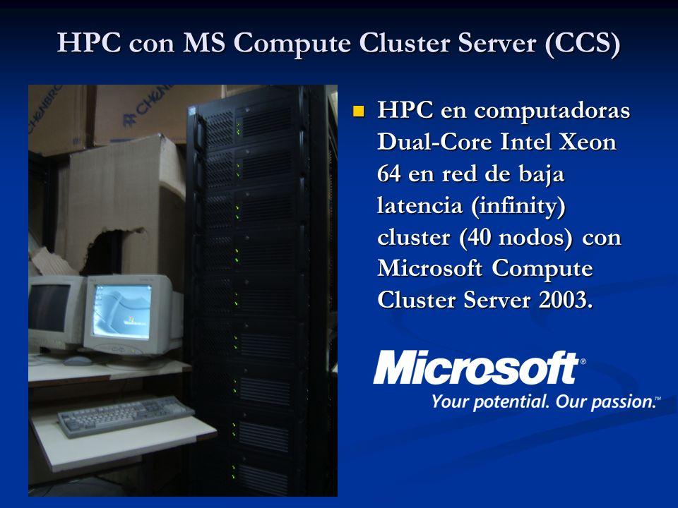 HPC con MS Compute Cluster Server (CCS)
