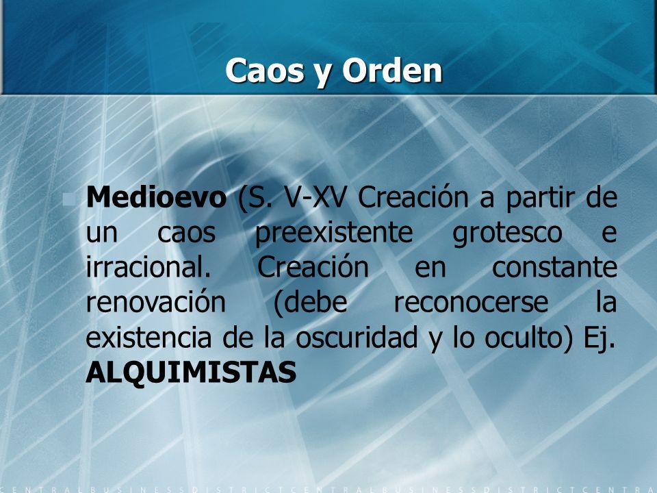 Caos y Orden