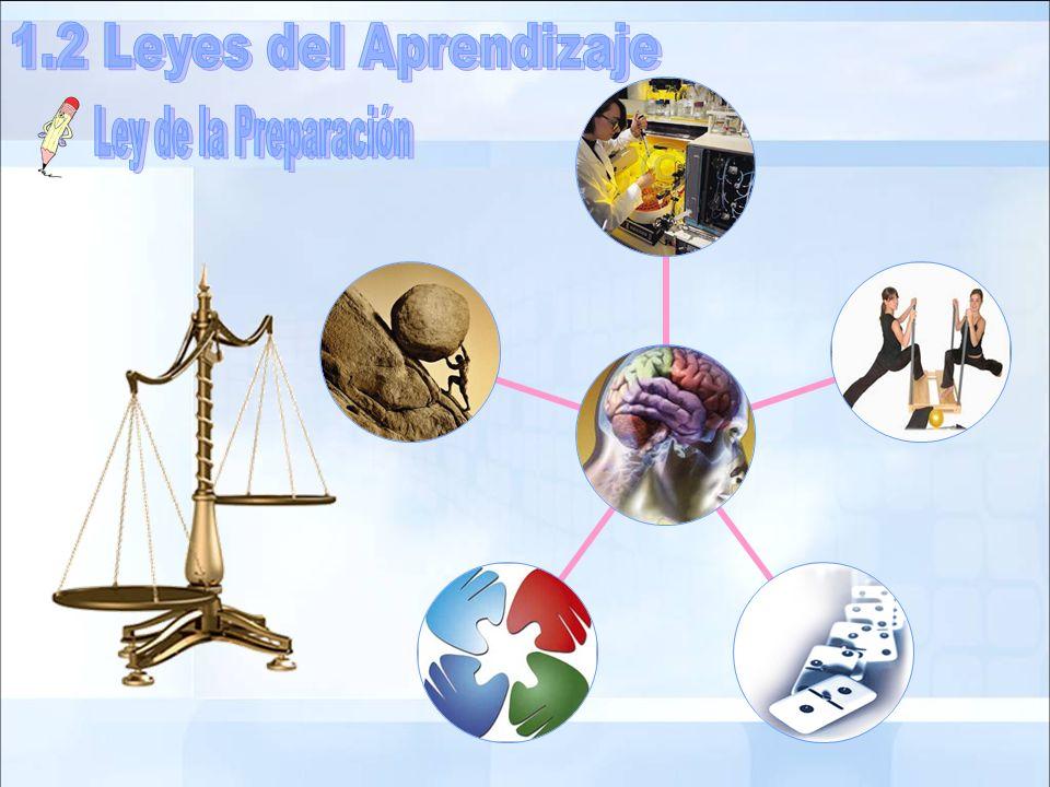 1.2 Leyes del Aprendizaje Ley de la Preparación