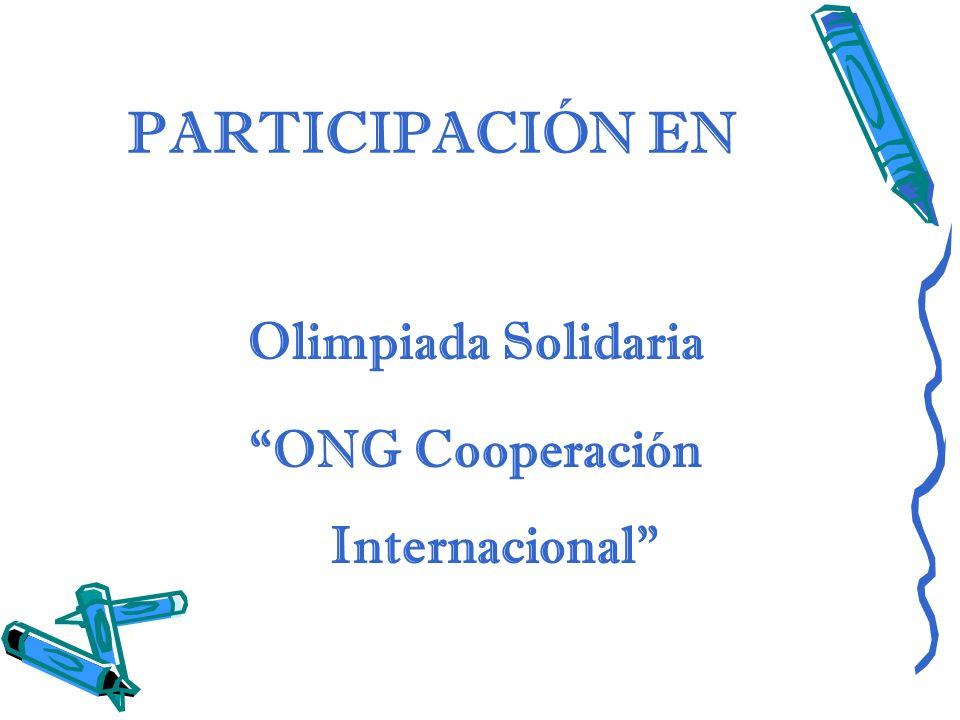 ONG Cooperación Internacional