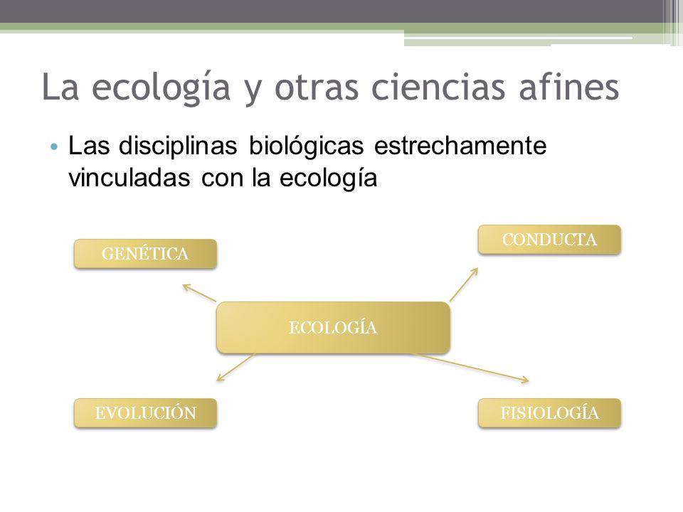 La ecología y otras ciencias afines
