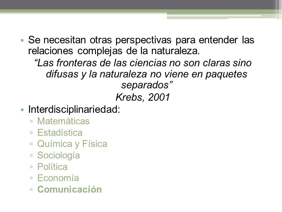 Interdisciplinariedad: