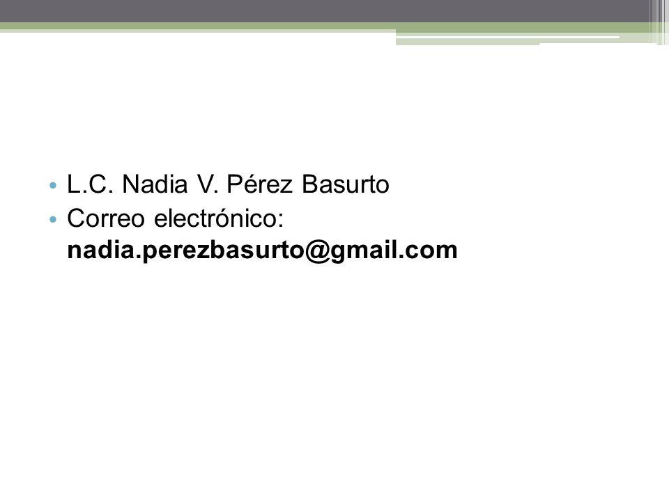 L.C. Nadia V. Pérez Basurto