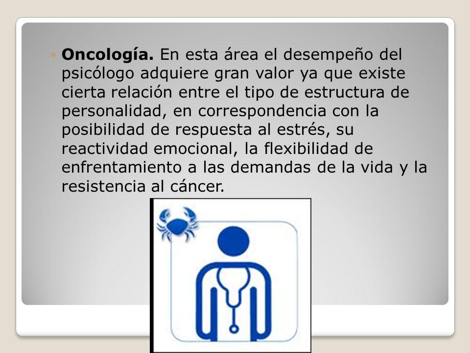 Oncología.