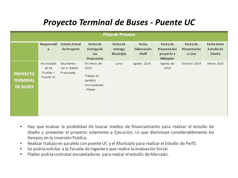 Proyecto Terminal de Buses - Puente UC
