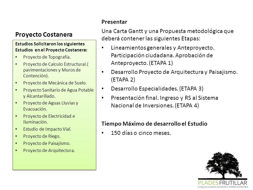 Proyecto Costanera Presentar
