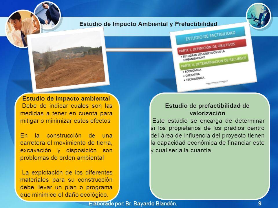 Estudio de Impacto Ambiental y Prefactibilidad