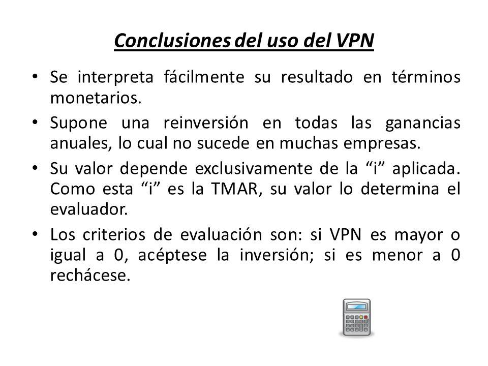 Conclusiones del uso del VPN
