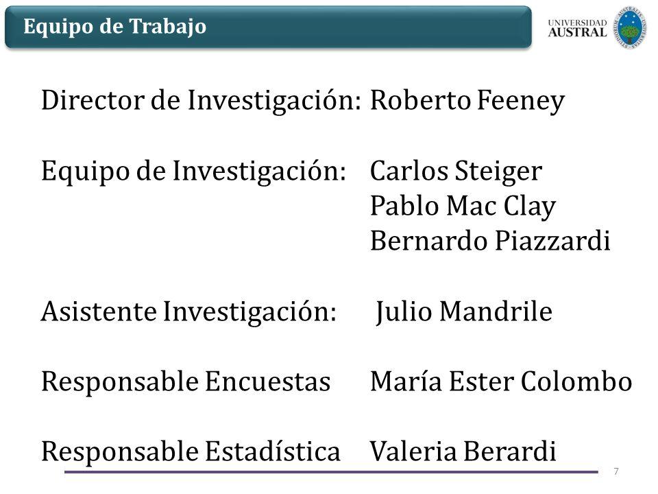 Director de Investigación: Roberto Feeney